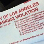First parking ticket since becoming a resident